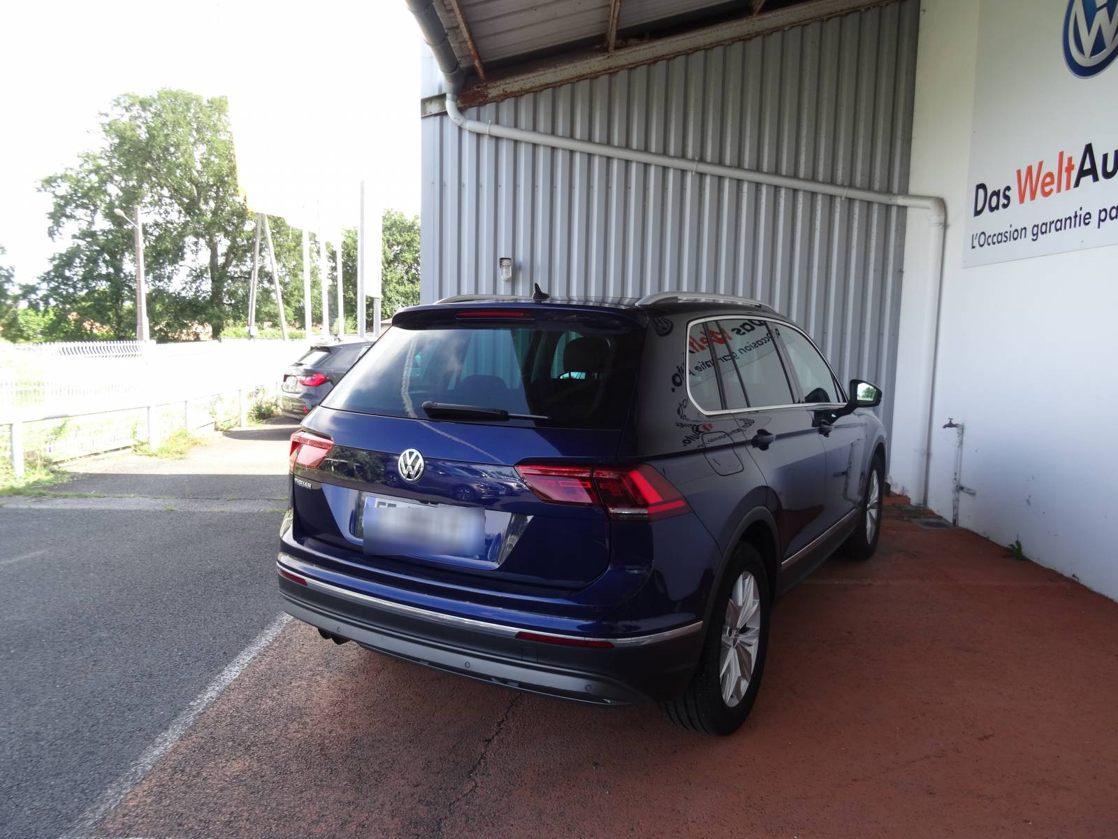 VOLKSWAGEN Tiguan 2.0 TDI 150 DSG7 - véhicule d'occasion - Site Internet Faurie - Volkswagen - Faurie Axess Sud Ouest Dax - 40180 - Narrosse - 11