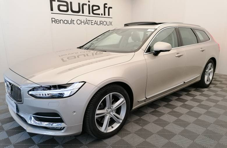VOLVO V90 D4 190 ch Geartronic 8  Inscription Luxe - véhicule d'occasion - Site Internet Faurie